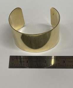 """Brass Bracelet Cuff 3"""" x 2"""""""