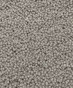 Japanese Seed Bead, Miyuki 11-3310/11-416E Opaque Light French Grey, 11/0 30 grams