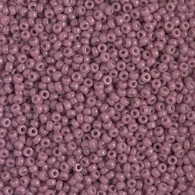 Japanese Seed Bead, Miyuki 11-4487/11-D4487, Duracoat Opaque Light Mulberry, 11/0 30 grams