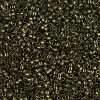 Miyuki Delica Cylinder/Seed Bead, DB0011/DB011 DB11, Opaque Metallic Olive, 11/0 7 grams
