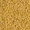 Miyuki Delica Cylinder/Seed Bead, DB2302, Opaque Glazed Citron Matte AB, 11/0 7 grams