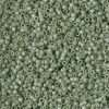 Miyuki Delica Cylinder/Seed Bead, DB2310, Opaque Glazed Pistachio Matte AB, 11/0 7 grams