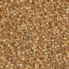 Miyuki Delica Cylinder/Seed Bead, DB0410/DB410, Galvanized Bright Gold, 11/0 7 grams