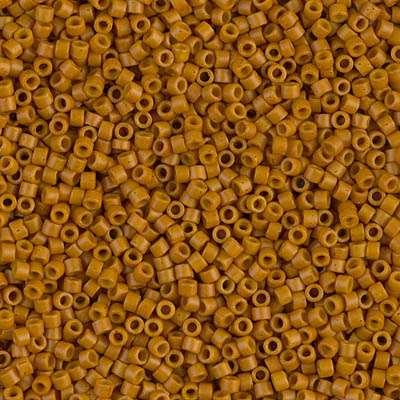 Miyuki Delica Cylinder/Seed Bead, DB0653/DB653, Opaque Pumpkin, 11/0 7 grams