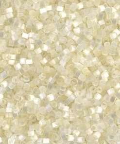 Miyuki Delica Cylinder/Seed Bead, DB0672/DB672, Silk Satin Cream, 11/0 7 grams