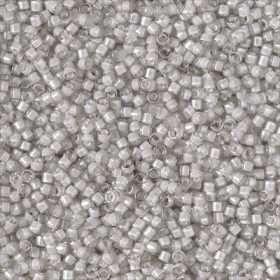 Miyuki Delica Cylinder/Seed Bead, DB2391, Transparent Color Lined Moonshine Luster, 11/0 7 grams