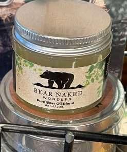 Pure Bear Oil Blend, Bear Oil, Shea Oil, Beeswax, 2oz